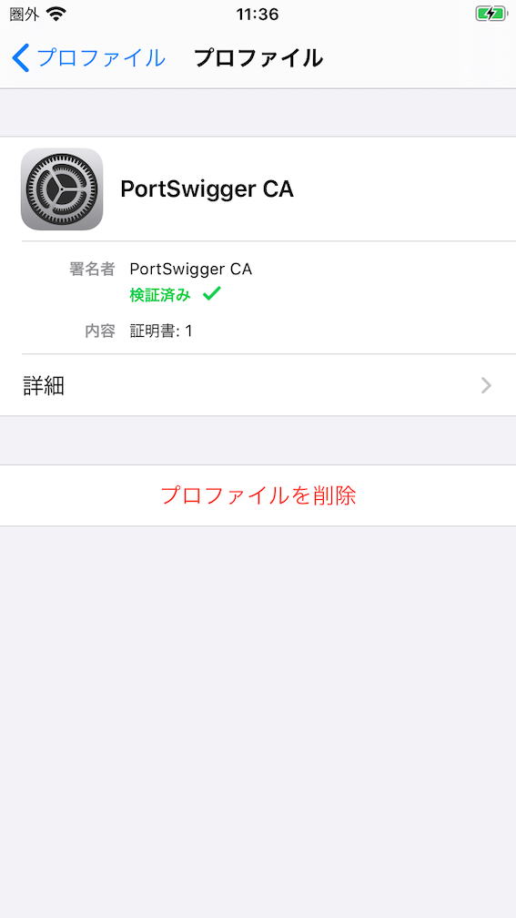 iphone profile for burpsuite
